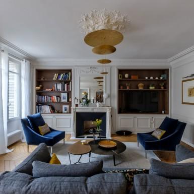 Un projet haute couture architecte d 39 int rieur paris - Deco maison bourgeoise ...