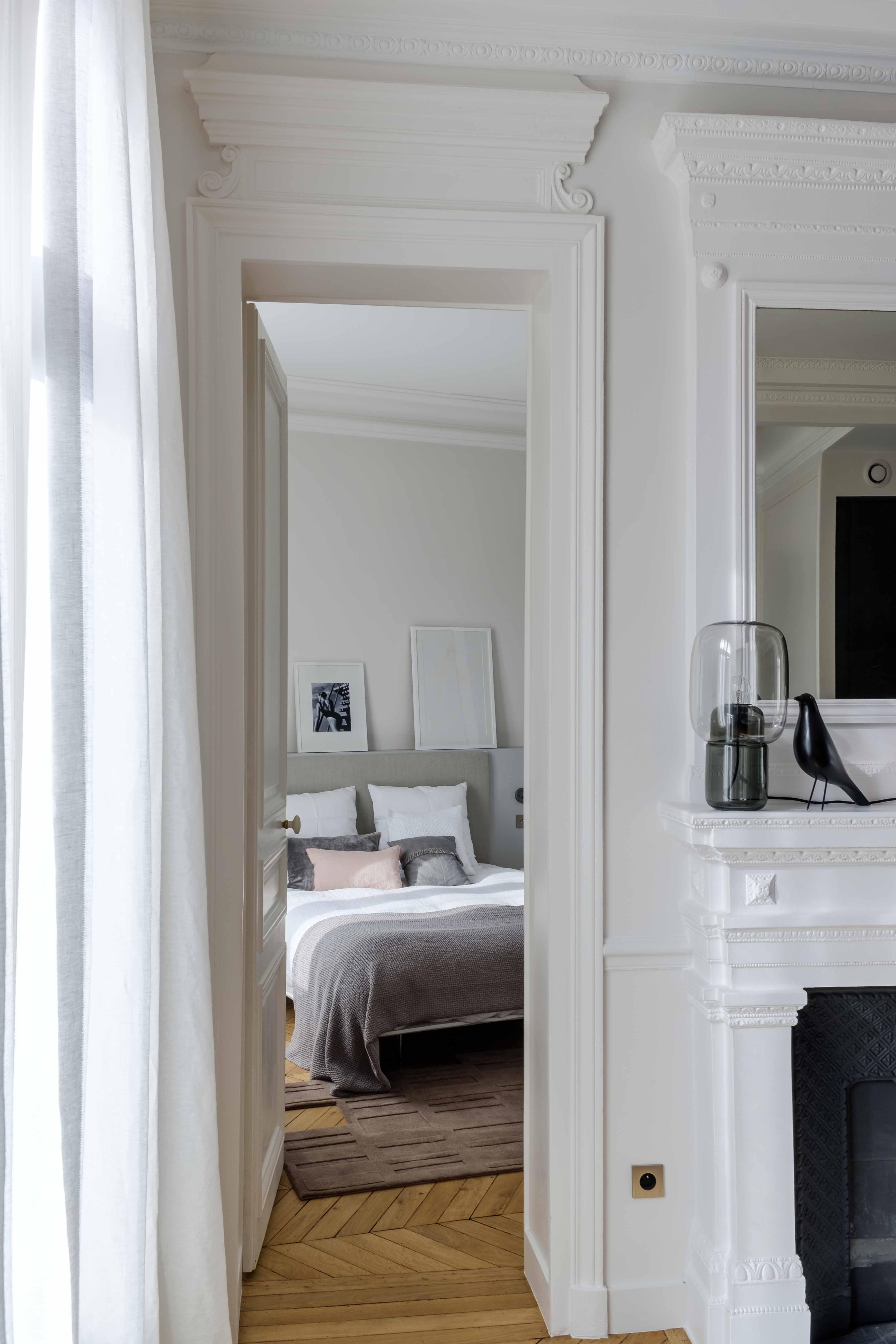 int rieur style haussmannien paris agence v ronique cotrel. Black Bedroom Furniture Sets. Home Design Ideas