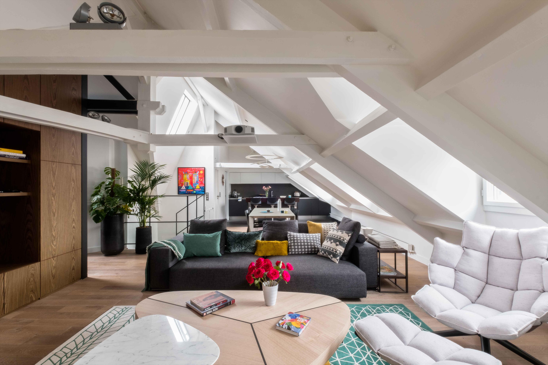 Sous les combles architecte d 39 int rieur paris - Architecte d interieur paris ...