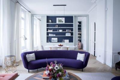 Rénovation et décoration d'un appartement à Pigale : cuisine ouverte et espaces de vie