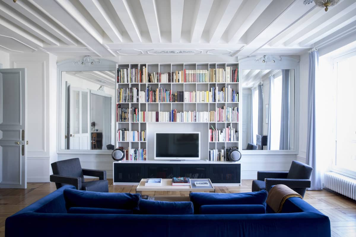 Décoration intérieure appartement haussmanien Paris